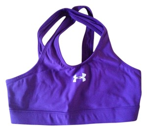 Under Armour Sporty, Bra, Fitted, Dri-fit, Monogram, Elastic, Crisscross Strap