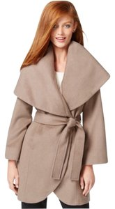 Tahari Wool-blend Wrap Coat Pea Coat