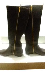 Michael Kors Knee High Dark Chocolate Boots