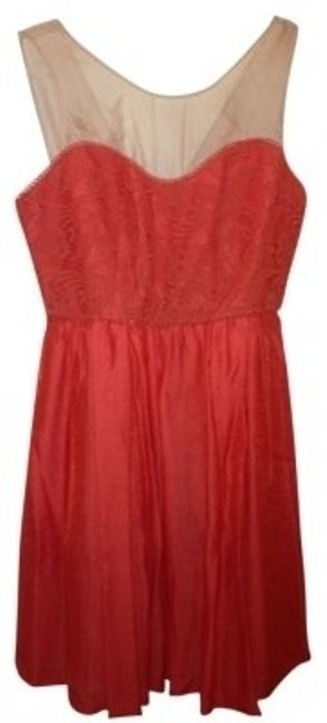 Preload https://item5.tradesy.com/images/mcginn-orange-lace-above-knee-cocktail-dress-size-8-m-11374-0-0.jpg?width=400&height=650