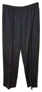 Sara Morgan Straight Pants Black
