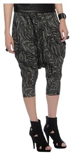 Forever 21 Harem Elegant Tribal Pattern Baggy Pants greys
