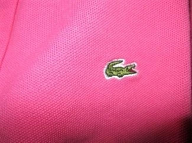 Lacoste T Shirt Pink