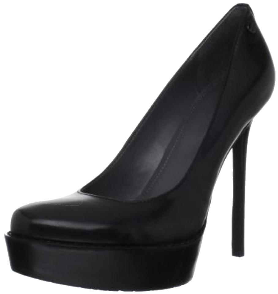 365828b8589b Calvin Klein Black Women s Dria Leather Platform Pumps. Size  US 8 ...