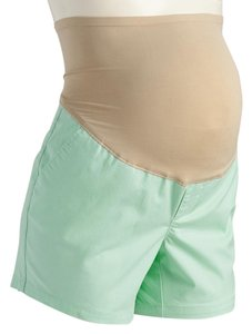 Old Navy NEW Old Navy Maternity Full-Panel Twill Shorts Teal size 14