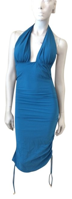 Diva by Rachel Pappo Teal Cover-up/Sarong Size 10 (M) Diva by Rachel Pappo Teal Cover-up/Sarong Size 10 (M) Image 1