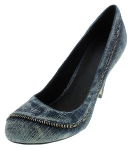 Diesel Denim Heels Indigo/denim Pumps