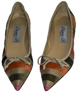 Diane B. beige / orang / green /red / pink Pumps