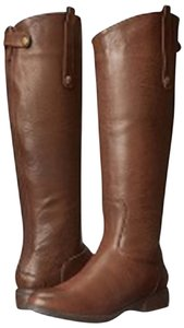 ZIGIny Leather Brown Boots