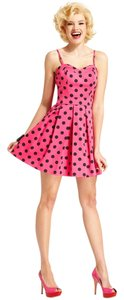 Marilyn Monroe short dress Pink Polka Dot on Tradesy