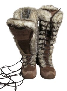 Lafuma Insulated Faux Fur Chestnut Boots