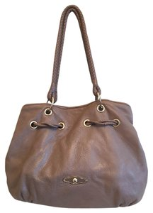 Elliot Lucca Drawstring Leather Hobo Bag