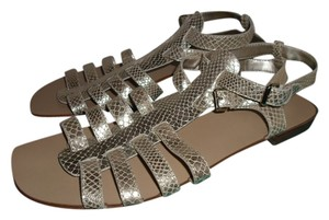 Nine West gold metallic Sandals