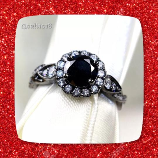 Other 1ct Agate Cz Black Gold Filled Image 1