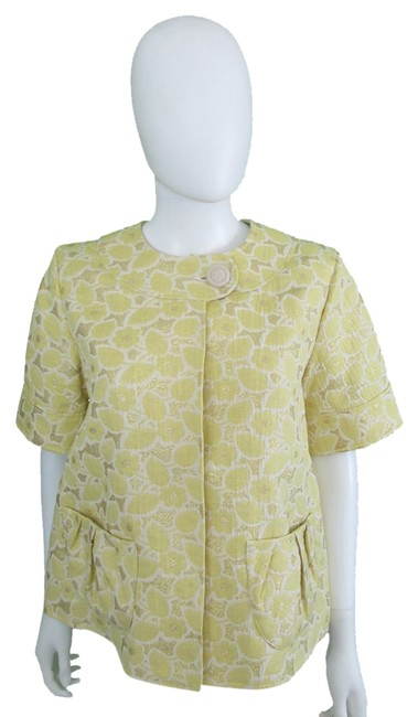 Preload https://item5.tradesy.com/images/vera-wang-lavender-label-yellow-spring-jacket-size-6-s-1137804-0-0.jpg?width=400&height=650