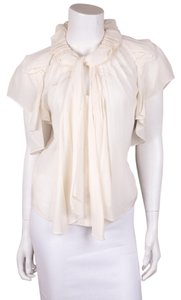 Zac Posen Top Cream