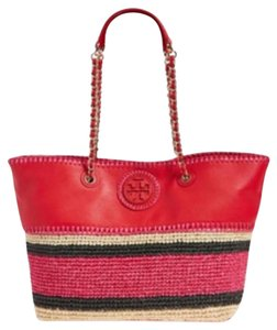 Tory Burch Tote in Ruby Jewel