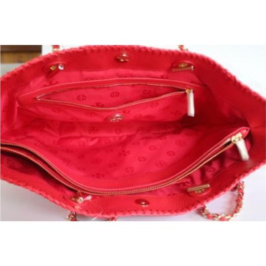 Tory Burch Tote in Ruby Jewel Image 1
