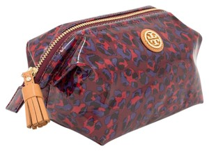 Tory Burch Small Molded Cosmetic Case Bag, Wine Tasting Panthra