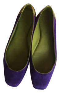 Diane von Furstenberg Purple and green Flats