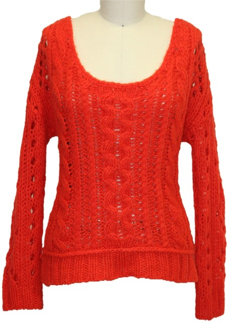 Preload https://img-static.tradesy.com/item/1137934/free-people-red-fluff-wildfire-sweaterpullover-size-2-xs-0-0-650-650.jpg