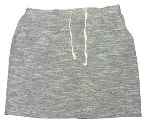 Sonoma Skirt grey-black and white threading