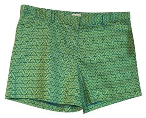 Laundry by Shelli Segal Bermuda Shorts Lime/turquoise