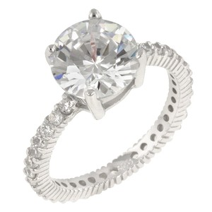 A. A. A. Cz Engagement Ring