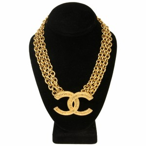 Chanel Chanel Limited Edition Big CC Runway Choker Necklace Chic