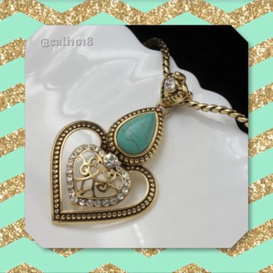 Other Turquoise & Austrian Crystal Image 3