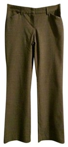 Express Versatile Casual Comfortable Stretch Dress Flare Pants Brown