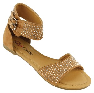Red Circle Footwear Camel Sandals