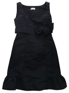RED Valentino Cocktail Formal Sleeveless Bow Accents Dress