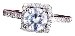 Square Cushion Cut With Round Center Stone