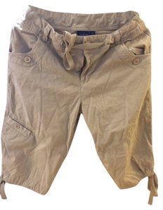 Summer Bermuda Shorts Tan