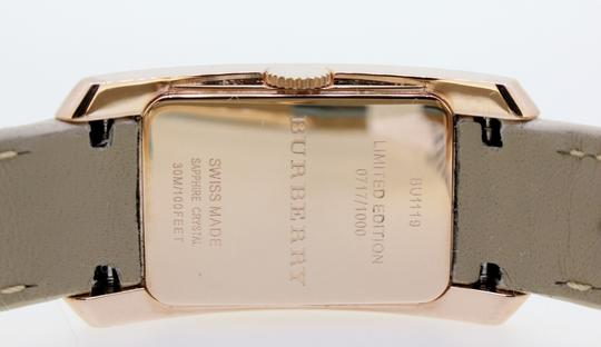Burberry Burberry BU1119 ROSE GOLD AND DIAMONDS LIMITED EDITION Image 4
