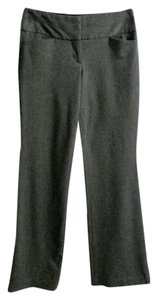 Express Stretchy Wide Waistband Flare Pants Gray