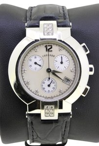Concord La Scala Chronograph Diamond and Mother of Pearl Watch