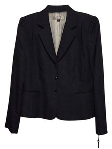 Tahari Navy with very thin white stripes Blazer