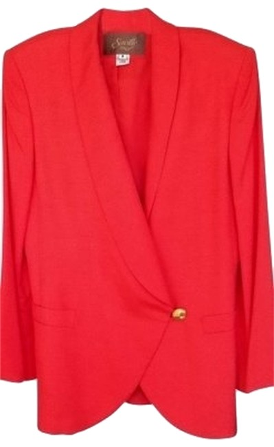 Preload https://item1.tradesy.com/images/deep-rich-coral-elegant-2-piece-spring-skirt-suit-size-8-m-113810-0-0.jpg?width=400&height=650