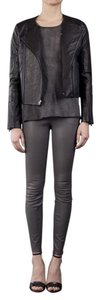 J Brand Leather Moto Classic Leather Jacket