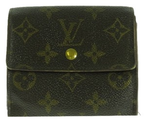Louis Vuitton [Authentic] LOUIS VUITTON Three-fold Wallet (Coin There Pocket)