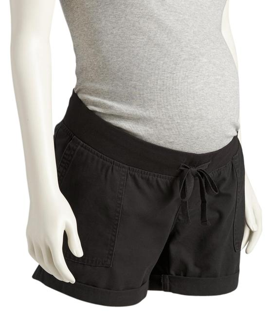 Item - Black Cotton Cat Small New Maternity Bottoms Size 4 (S, 27)