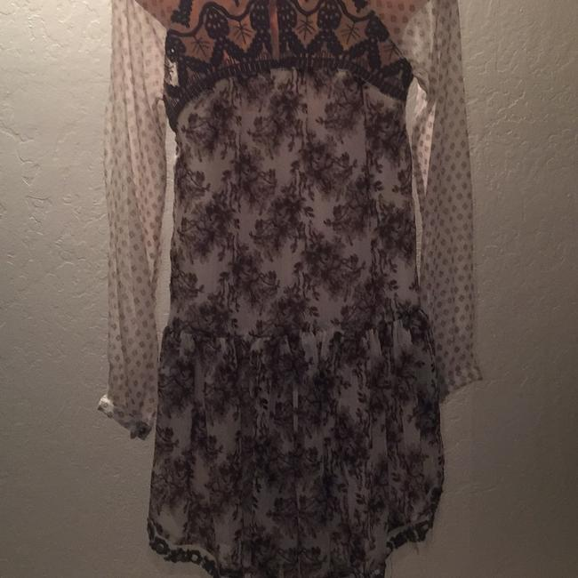 Free People short dress Multi cream and brown flowers print on Tradesy Image 4
