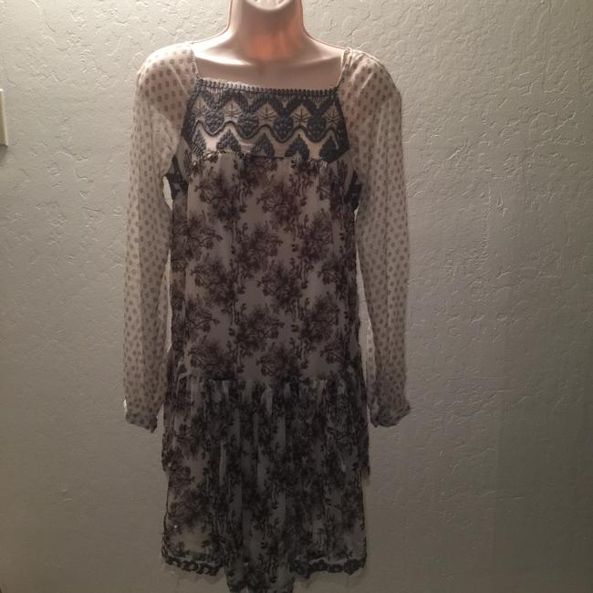 Free People short dress Multi cream and brown flowers print on Tradesy Image 8