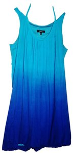Express short dress blue ombre on Tradesy