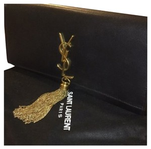 Saint Laurent Ysl Black Clutch