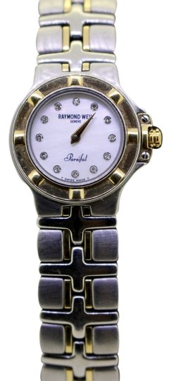 Preload https://img-static.tradesy.com/item/11383783/raymond-weil-gold-stainless-steel-parsifal-18kss-diamond-and-white-mother-of-pearl-dial-watch-0-1-540-540.jpg