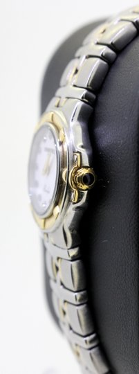 Raymond Weil * Parsifal 18k/SS Diamond and White Mother Of Pearl Dial Watch Image 5
