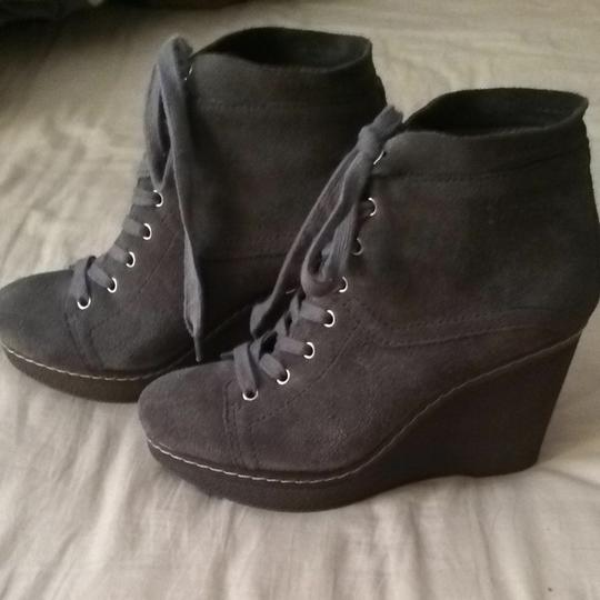Nine West Grey Wedges